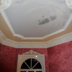 Deckenmalerei Zeppelin