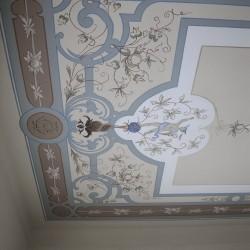 Restaurierung Deckenmalerei Gründerzeit