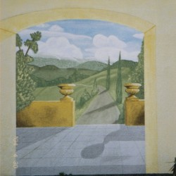 Illusionsmalerei Toscana