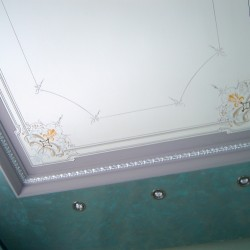 Deckenmalerei im Rokoko Stil in Beiersdorf