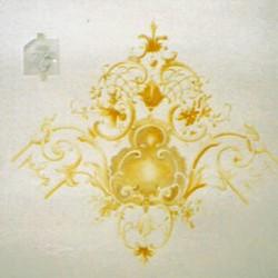 Deckeneckdetail Barock