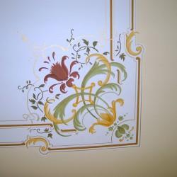 Deckenmalerei in Großschönau