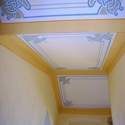 Treppenhausgestaltung im Jugendstil in Schirgiswalde