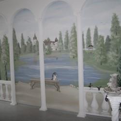 Wandmalerei Dresden