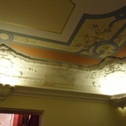Deckenmalerei und Stuck