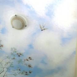 Deckenmalerei als Illusionsmalerei in Johnsdorf, Haus Gertrud