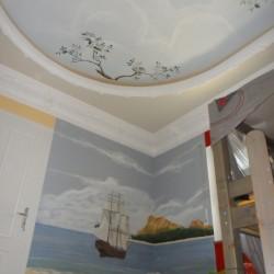 Decken- und Wandmalerei Kinderzimmer