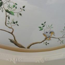Deckenmalerei Kinderzimmer