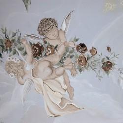 """Deckenmalerei """"Engel"""""""